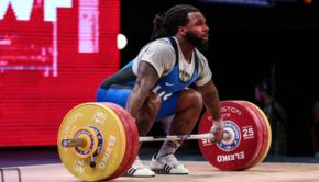 Lifting in Rio Saturday- Kendrick Farris